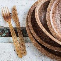 Festivaleiros esgotam pratos comestíveis no Bons Sons em Cem Soldos