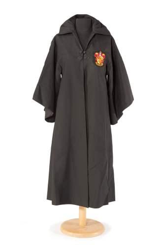 A capa que Daniel Radcliffe vestiu no segundo filme de Harry Potter, em 2001. Williams nunca escondeu que gostaria de ter interpretado a personagem Hagrid. Foto: Sotheby's New York