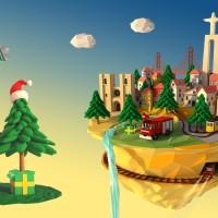 Este Natal alugue um pinheiro e ajude os bombeiros