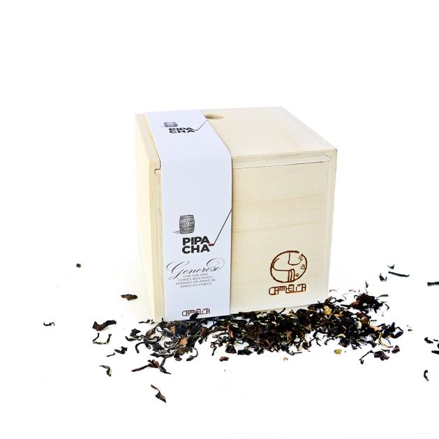 Caixa de chá Oolong